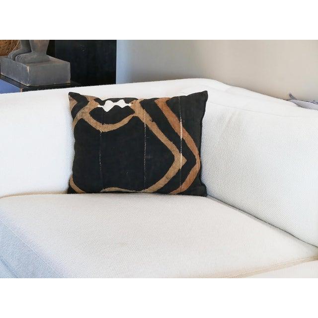 African Mudcloth Pillow For Sale - Image 3 of 6