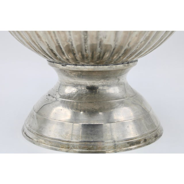 Vintage Mid Century Modern Silver Plate Champagne Ice Bucket For Sale - Image 9 of 13