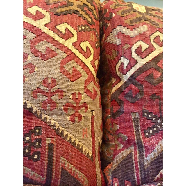 Feather George Smith 8-Foot Kilim Sofa For Sale - Image 7 of 12