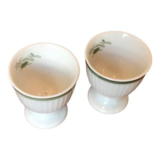 Vintage Danish Egg Cups - a Pair For Sale