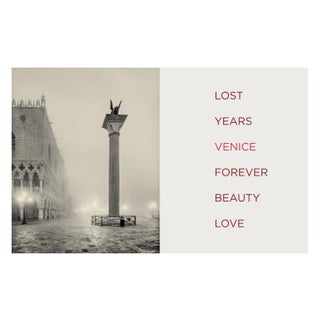 Lost, Years, Venice Original Print For Sale