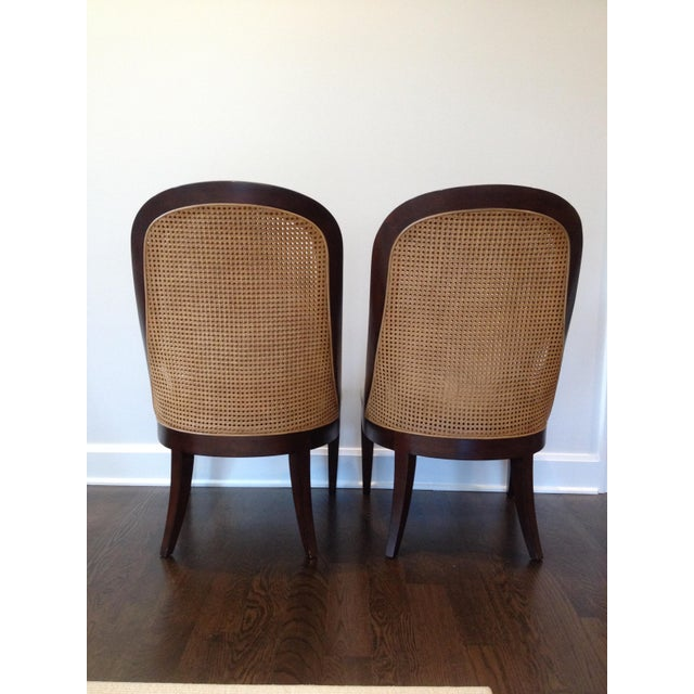 Hickory Chair Co. Caned Back Side Chairs - Pair - Image 5 of 11