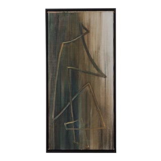 An Abstract Painting by Hans Richter, Oil on Canvas For Sale
