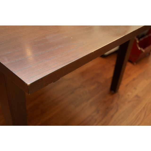 Ethan Allen Horizon Collection Dining Table - Image 4 of 8