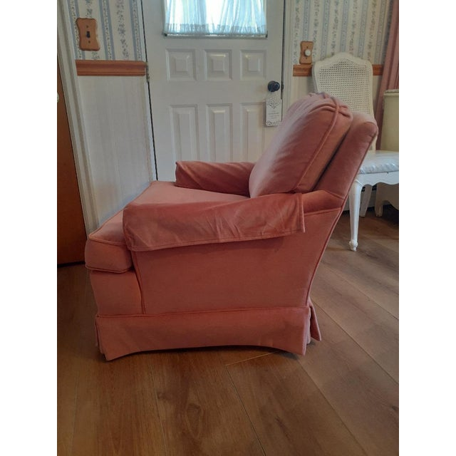 Drexel Heritage Frederick Edward Distictive Seating Club Chairs - A Pair For Sale - Image 9 of 12