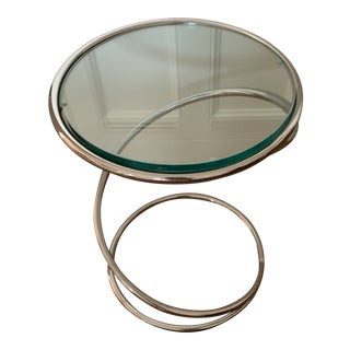 1970s Mid-Century Modern Pace Collection Swirl Table For Sale
