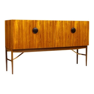 1960s Danish Modern Kofod Larsen for G-Plan Teak High Board/Credenza For Sale