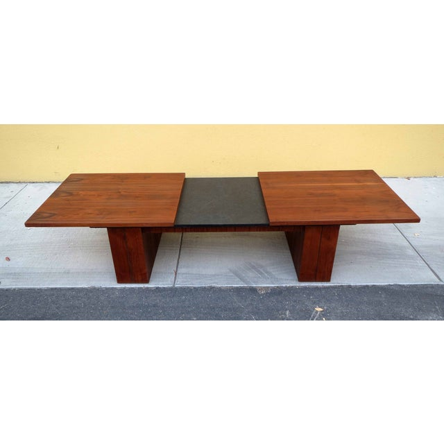 Mid-Century Expanding Coffee Table - Image 2 of 5