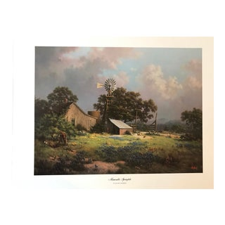 """Memorable Springtide"" Lithograph Print by Dalhart Windberg"