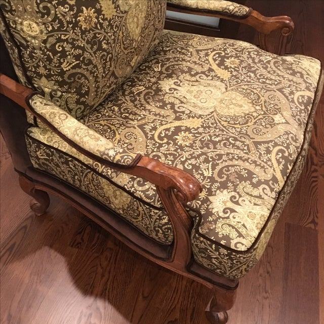 Ethan Allen Ethan Allen Harris Chair For Sale - Image 4 of 5