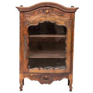 19th Century French Provincial Hanging Cabinet For Sale