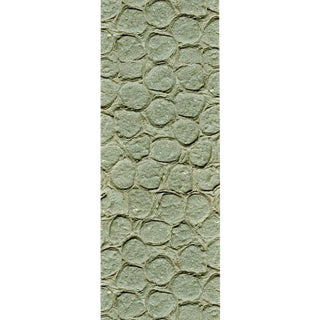 Sample, Maya Romanoff Meditations Ohm - Handmade Paper Wallcovering For Sale