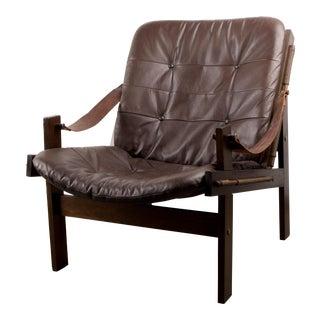 1950s Torbjørn Afdal for Bruksbo Norway Hunter Lounge Chair For Sale