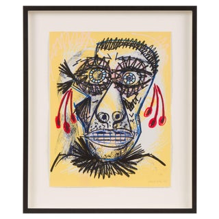 Santos Cortes Picasso Inspired Abstract Print I For Sale