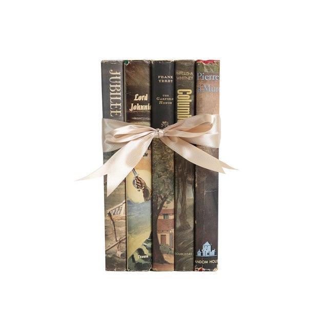 Midcentury Book Gift Set: Dustjacket Novels, S/5 For Sale - Image 5 of 5