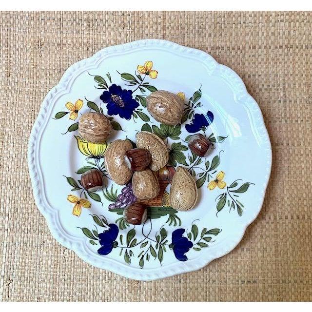 1970s Este Ceramiche Italy Trompe l'Oleil Plate For Sale - Image 4 of 8