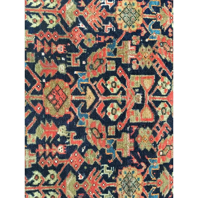 Antique Persian Malayer Runner - 2′5″ × 10′11″ - Image 4 of 8