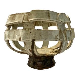 Ribbons Ceramic Bowl For Sale