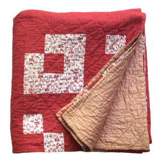 1930s Adirondack Summer Quilt For Sale