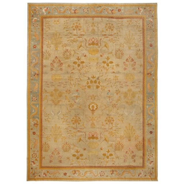 Exceptional Antique Amritsar Carpet For Sale