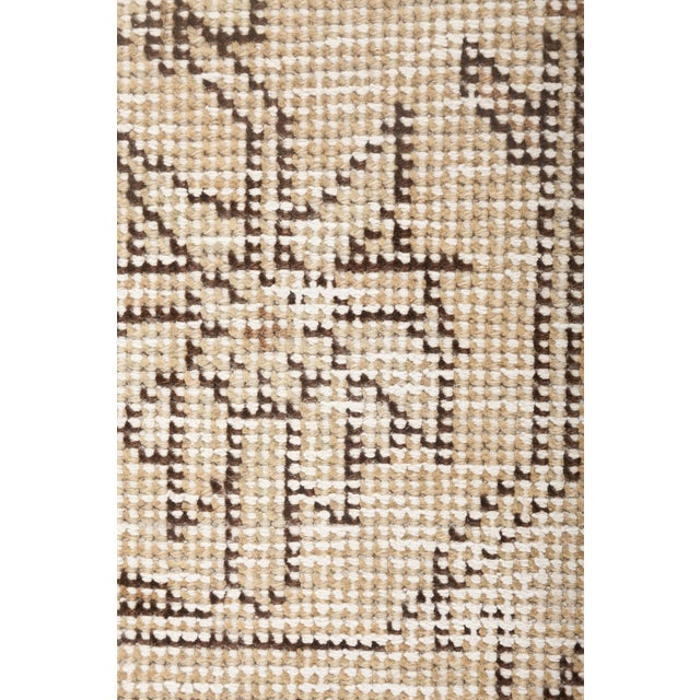 """Vintage Hand Knotted Area Rug - 7' 10"""" X 11' 1"""" - Image 3 of 4"""