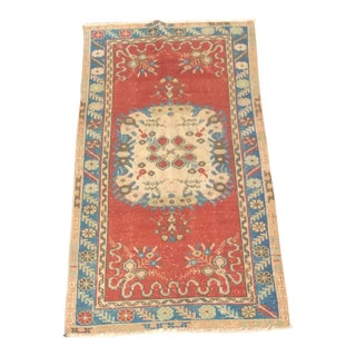 Vintage Turkish Rug - 2′9″ × 5′11″
