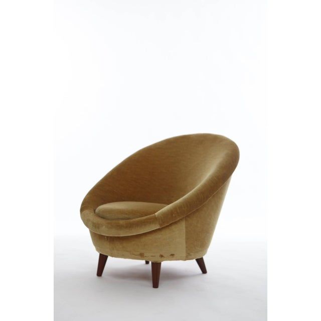 Brown 1950s Norwegian Egg Chair For Sale - Image 8 of 8