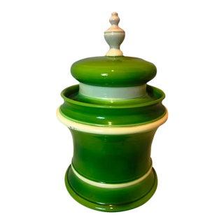 Vintage Raymor Chinoiserie Chic Mancioli Green Pottery Art
