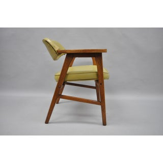 Vintage Gunlocke Mid Century Modern Danish Style Office Chair Preview