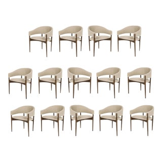 Set of 14 Enroth Dining Chairs For Sale