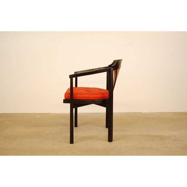 Dunbar Horseshoe Chair Designed by Edward Wormley For Sale - Image 5 of 8
