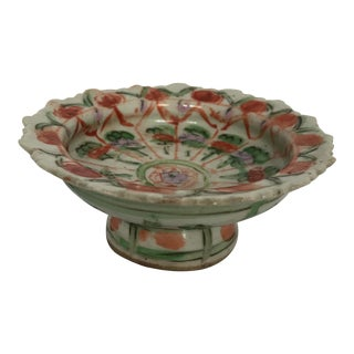 Chinese Export Porcelain Footed Bowl