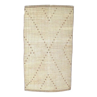 Vintage Handwoven Mauritania Tuareg Mat For Sale