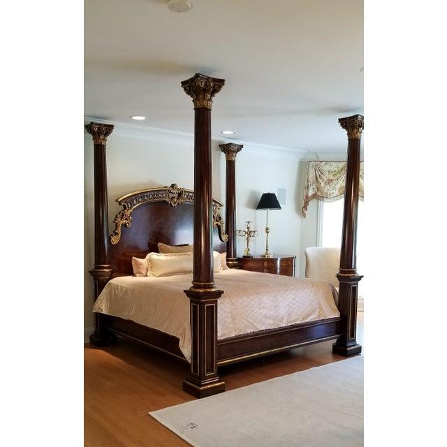 Traditional Henredon Arabesque Bedframe For Sale - Image 9 of 13