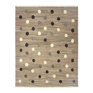 Rug & Relic Neutral Dots Turkish Kilim | 5'11 X 7'7 Flatweave
