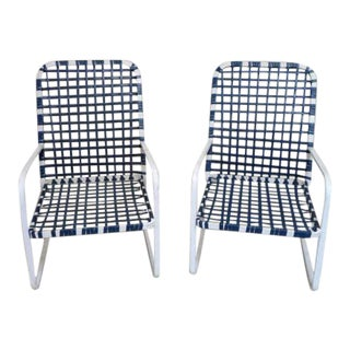Brown Jordan Patio Chairs - A Pair For Sale