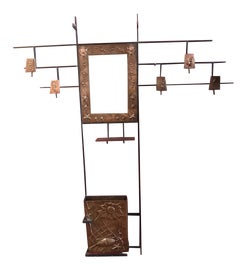 Image of Arts and Crafts Coat and Hat Racks