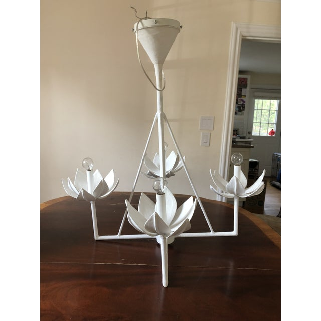 Contemporary Julie Neill Diego 1 Tier Chandelier For Sale - Image 3 of 3