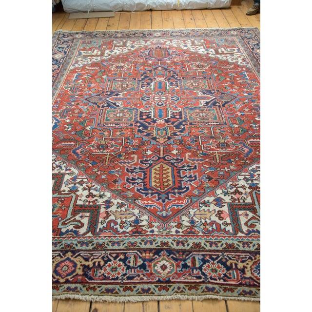 "Vintage Heriz Carpet - 8'1"" X 10'7"" - Image 7 of 10"