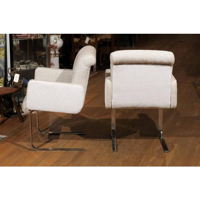 "Pair of ""Lugano"" Chairs by Mariani for Pace For Sale In Atlanta - Image 6 of 8"