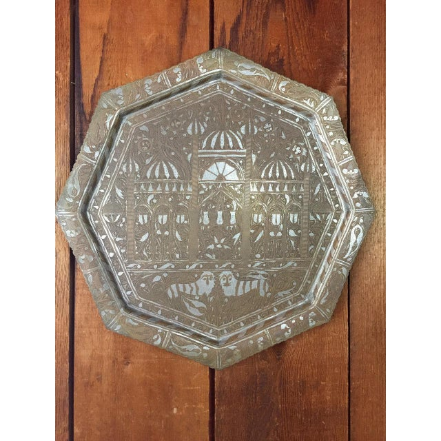 Boho Chic Embossed Tray - Image 3 of 7