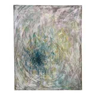 "Original Mixed Media Painting ""Spiral Ii"""
