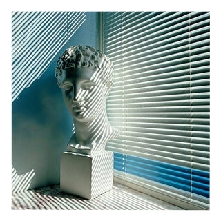 Contemporary 'Venetian Bust' Fine Art Photographic Print by Artist Clive Frost - 48x48