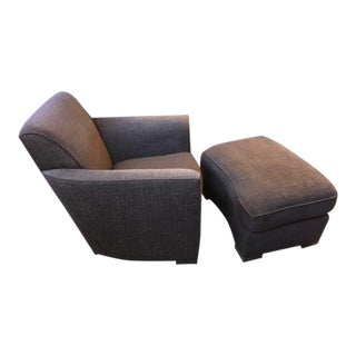 Donghia Noble Brown/Black Chair For Sale