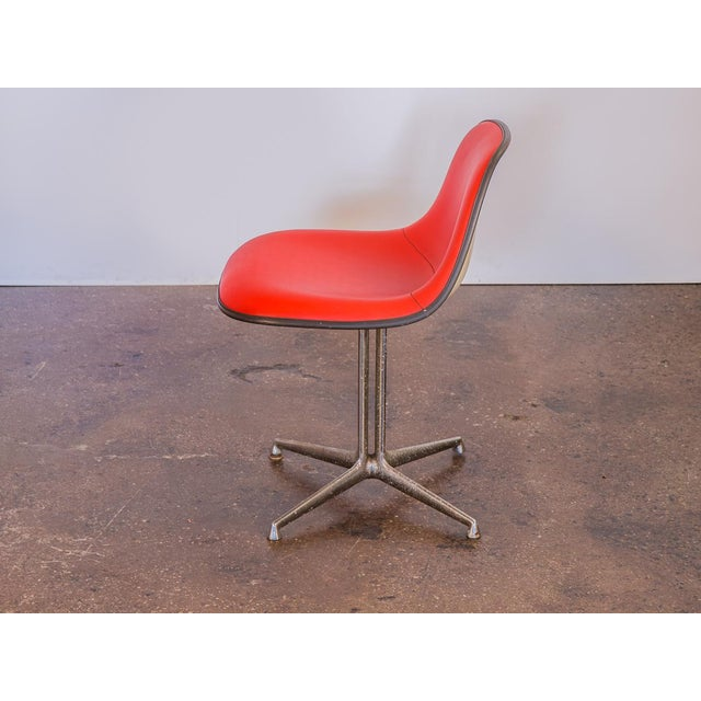 Mid-Century Modern Red La Fonda Eames Chair for Herman Miller For Sale - Image 3 of 11