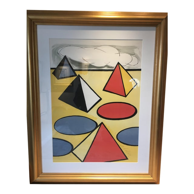 """Alexander Calder """"La Piege"""" (The Trap) Lithograph For Sale"""