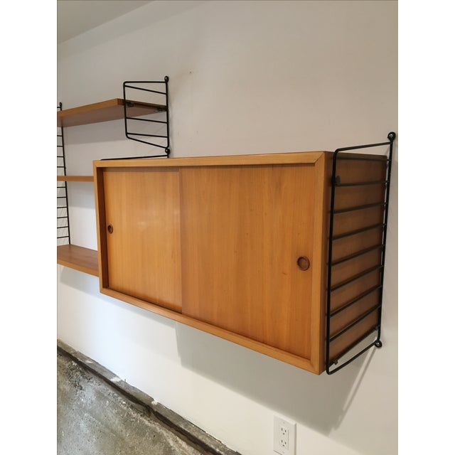 String Shelves and Cabinet by Nisse Strinning For Sale - Image 4 of 11