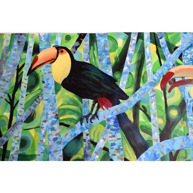 Ramphastos Fantasia Acrylic Painting - Image 2 of 10