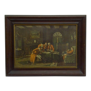 "Vintage Framed Print ""The Gentlemen"""