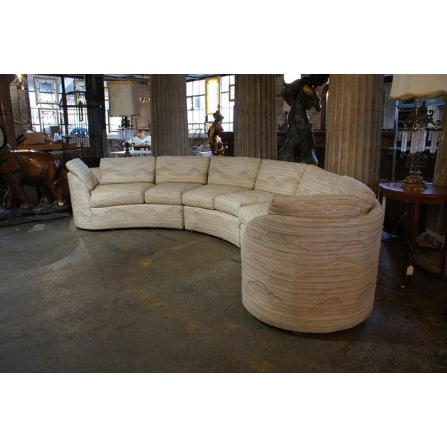Hekman-Dansen Contemporary Deco Sectional Sofa | Chairish